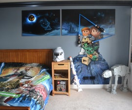 Lego Star Wars Mural