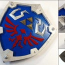 EVA Foam Legend of Zelda Hylian Shield