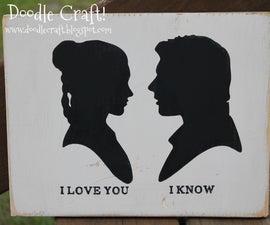 Star Wars Han Solo and Princess Leia love!