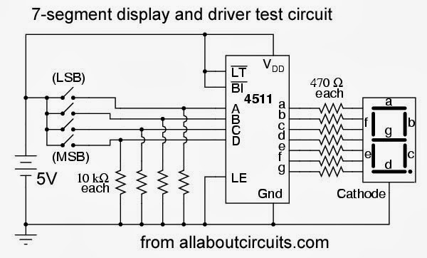 Picture of Seven Segment Display Drivers