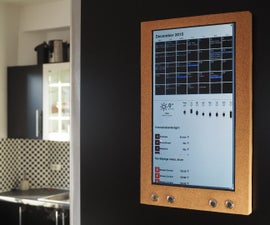 Raspberry Pi: Wall Mounted Calendar and Notification Center
