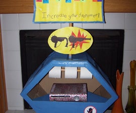 Pack-a-Punch Machine With Pack-a-Punched XBOX 360 (Modded Paint)