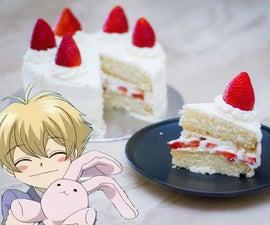 蜂蜜森派草莓酥饼