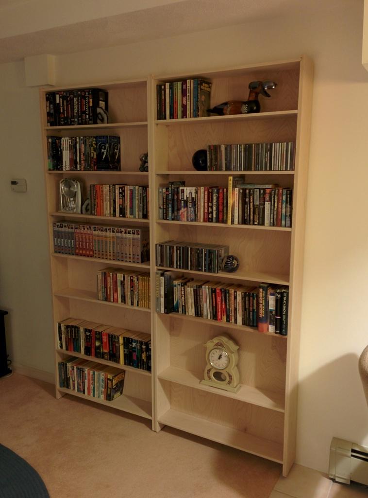Picture of Hidden Bookcase Doors to Secret Lair