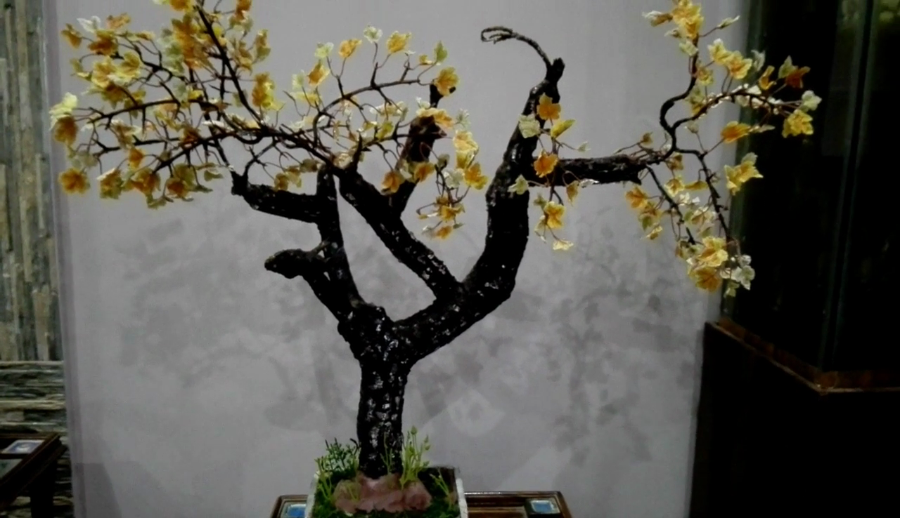 Picture of Arrangement of Leaves & Final Look