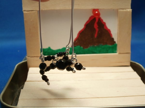 Mini Marionette With Stage in Altoids Tin