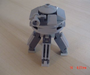 Lego Mini S.S. Drake (Pikmin 3)