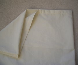 Housewife pillowslip with French seams