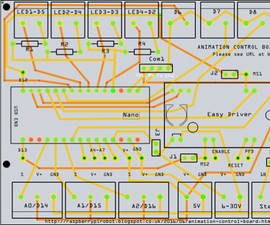 Demo and Code Walkthrough for an Arduino/Easy Driver Animation Control Board