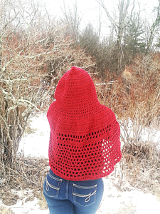 Crochet Your Own Little Red Riding Hood Cape