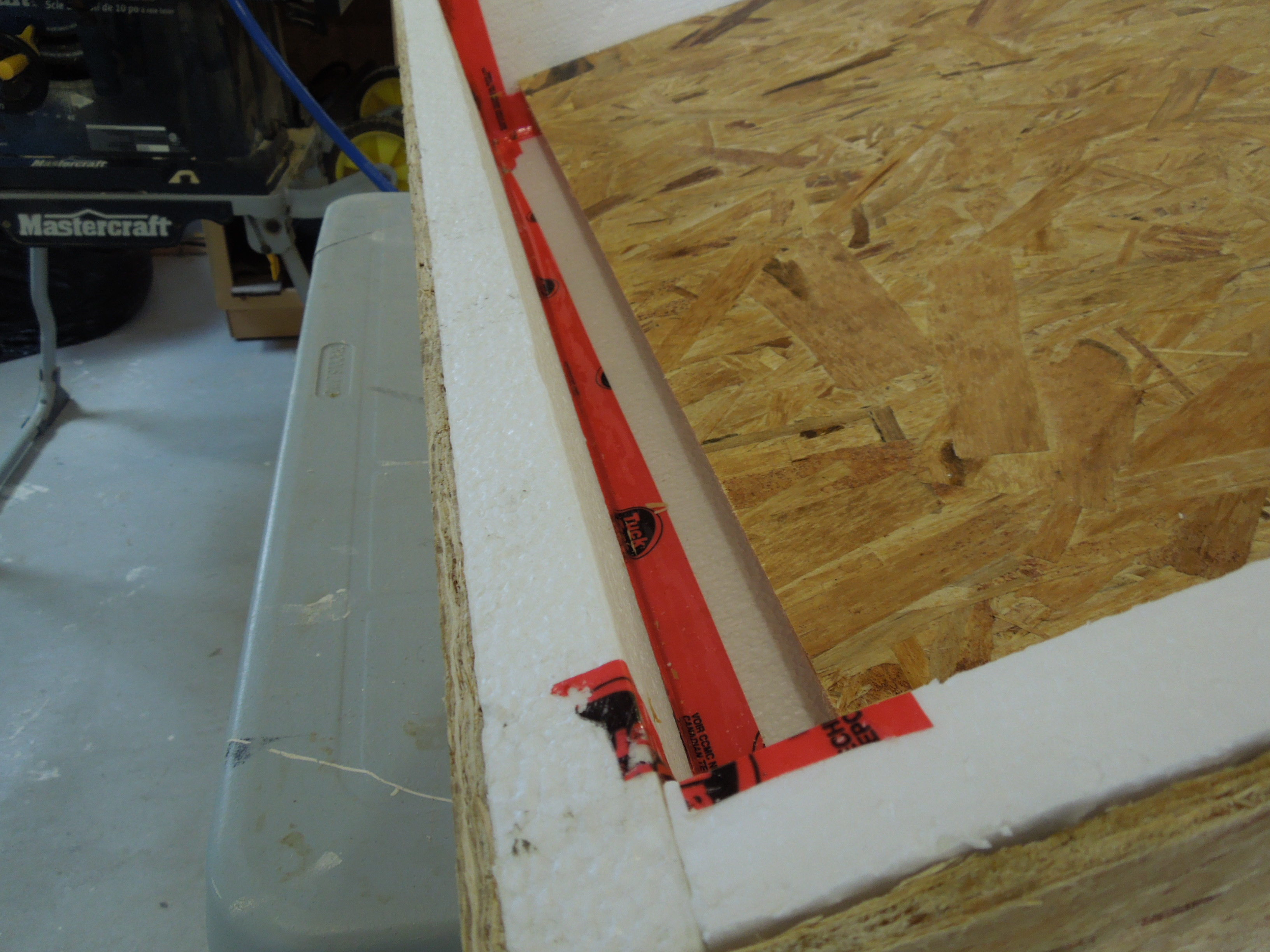 Picture of The Divider Between the Hot and Cold Air Plenums