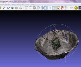 sixpence 3D scanning kit