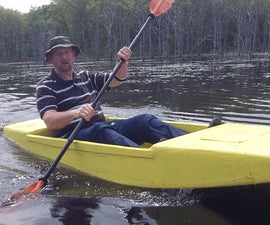 Seafoam Kayak, the Unsinkable Foam Kayak Anyone Can Build, 16 Pounds and Eight Feet of Fun