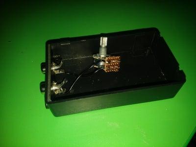 Potentiometer Wiring and Enclosure Prepairing