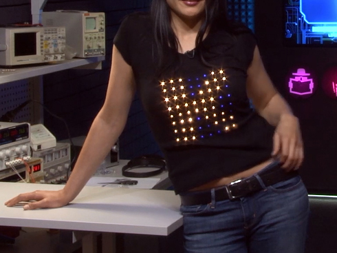 Picture of 8x8 LED T-shirt