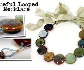 Peaceful Looped Necklace