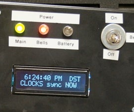 Arduino-based Master Clock for Schools