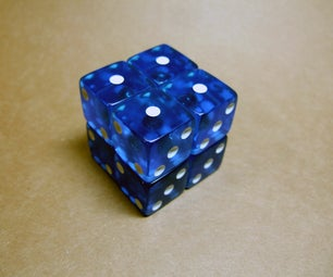 2x2 Magnetic Dice Cube