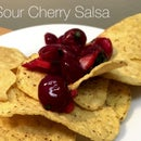 Sour Cherry Salsa
