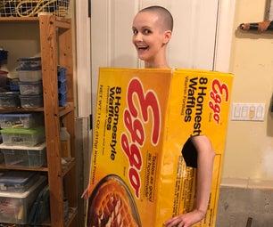 Stranger Things Eggo Waffle Box Costume