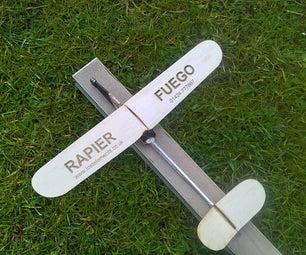 Rapier Fuego Retro Model Plane