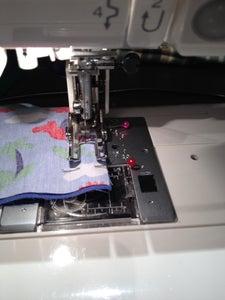Sew Short Edges Together