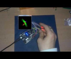 Arduino / Processing - SIX AXIS GYRO & ACCELEROMETER