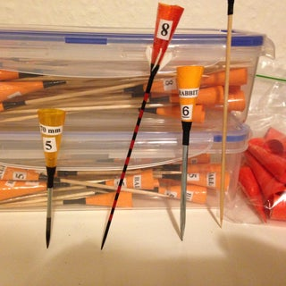 "Professional Blowgun and Dart - Pierce 1/2"" Plywood **Video**"