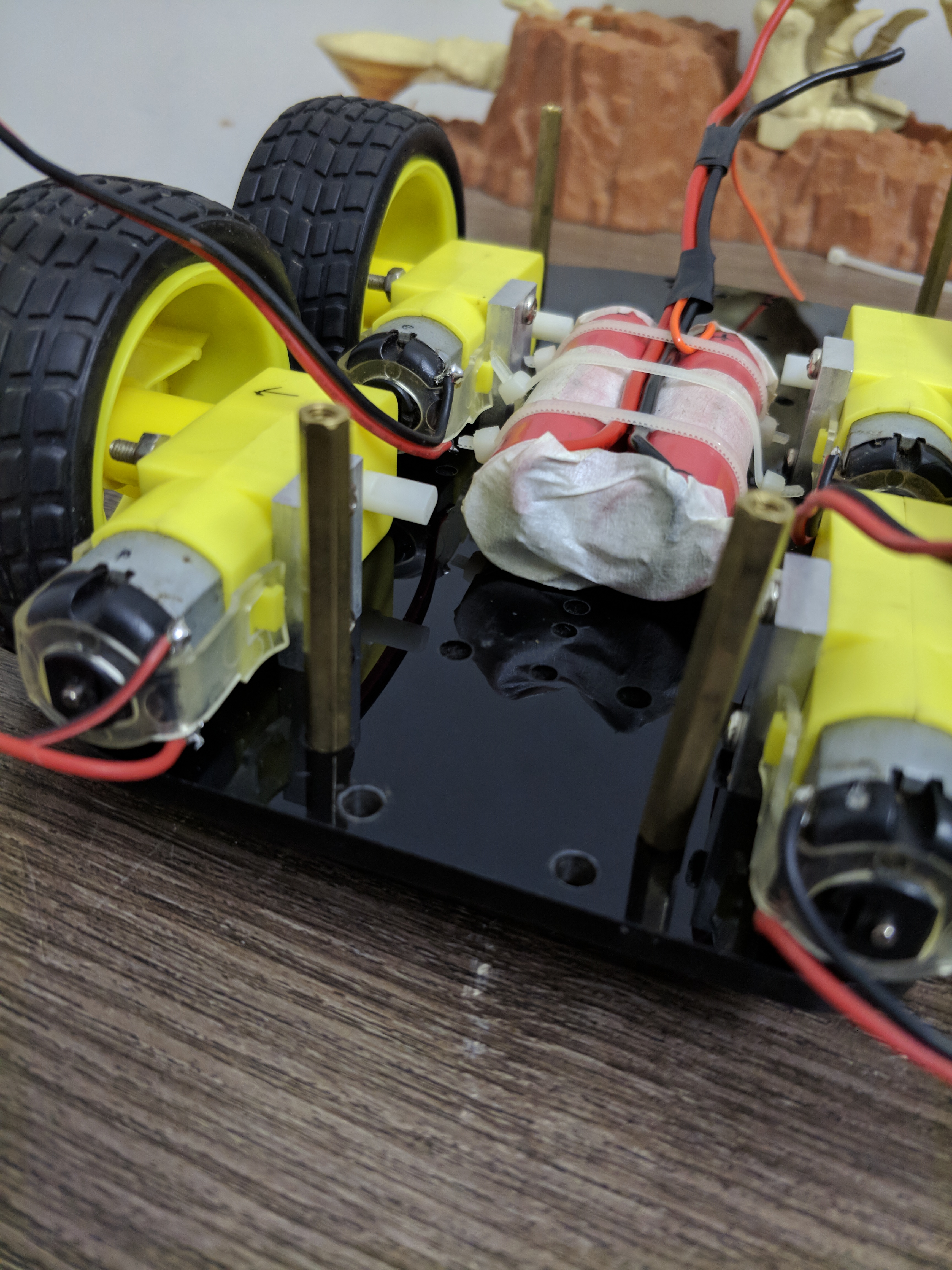 Picture of Combining Lower and Upper Chassis Together