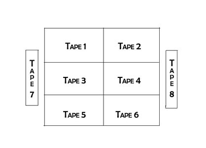 Preparing the VHS Tapes + Planning Your Lap Table Structure