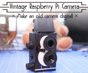 Vintage Raspberry Pi Camera