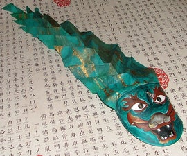 Chinese Dragon Pull Toy