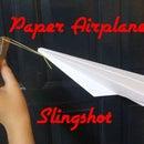 Paper Airplane Slingshot