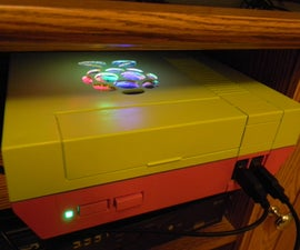 Retro Machine - Raspberry Pi in NES Case