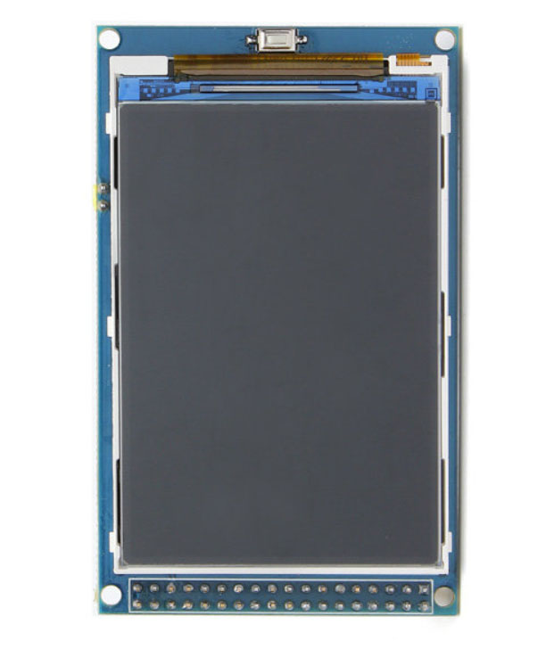 """Picture of The 3.2"""" Color TFT Display (HX8357C or HX8357B)"""