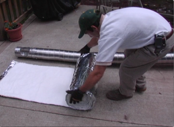 Picture of Insulate the Chimney Liner