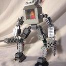 Lego mech suit