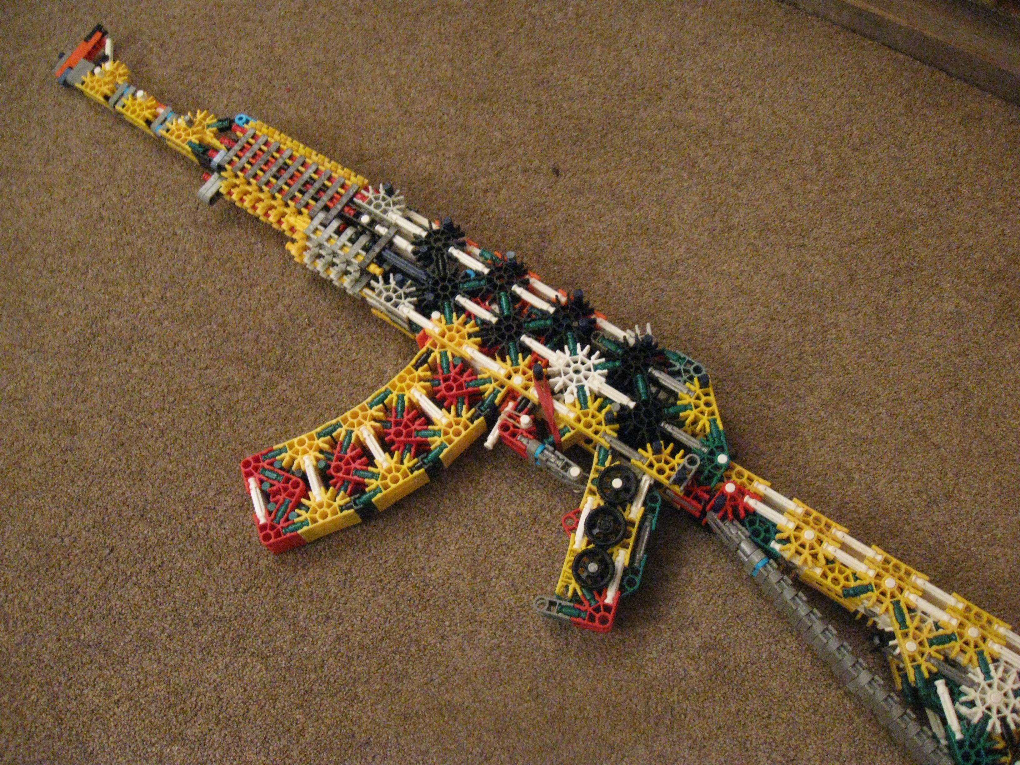 Picture of K'nex AK-47 Model