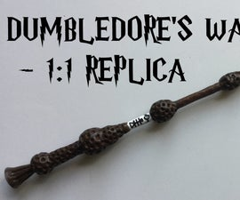How to Make Dumbledore's Wand (the Elder Wand)
