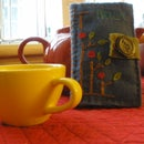 How to Make a Tea Book (Sew Warm Contest Entry)