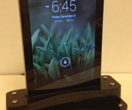 Make your own Nexus 7 charging dock for $15