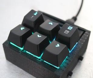 Custom Macro Mechanical Keypad