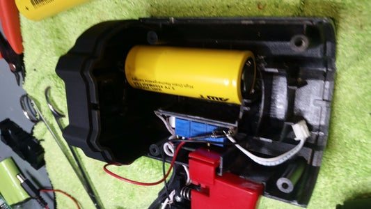 Fit the Batteries to the Cavity-