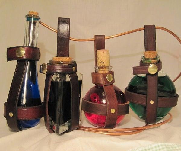 Leather Potion Bottle Holder