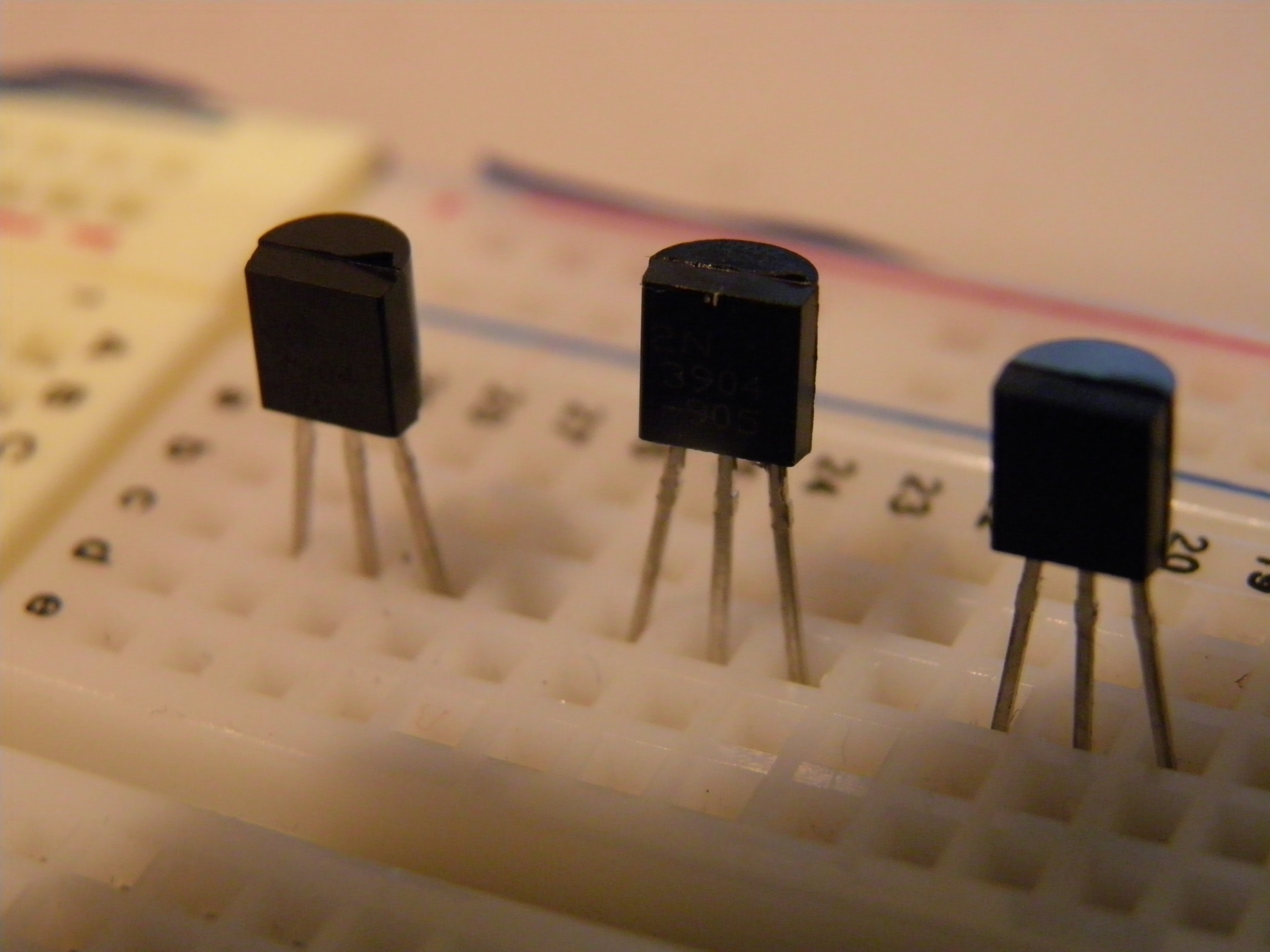 Picture of Laying Out the Transistors