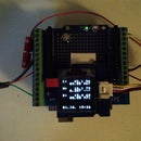 Arduino 1-wire Display (144 Chars)