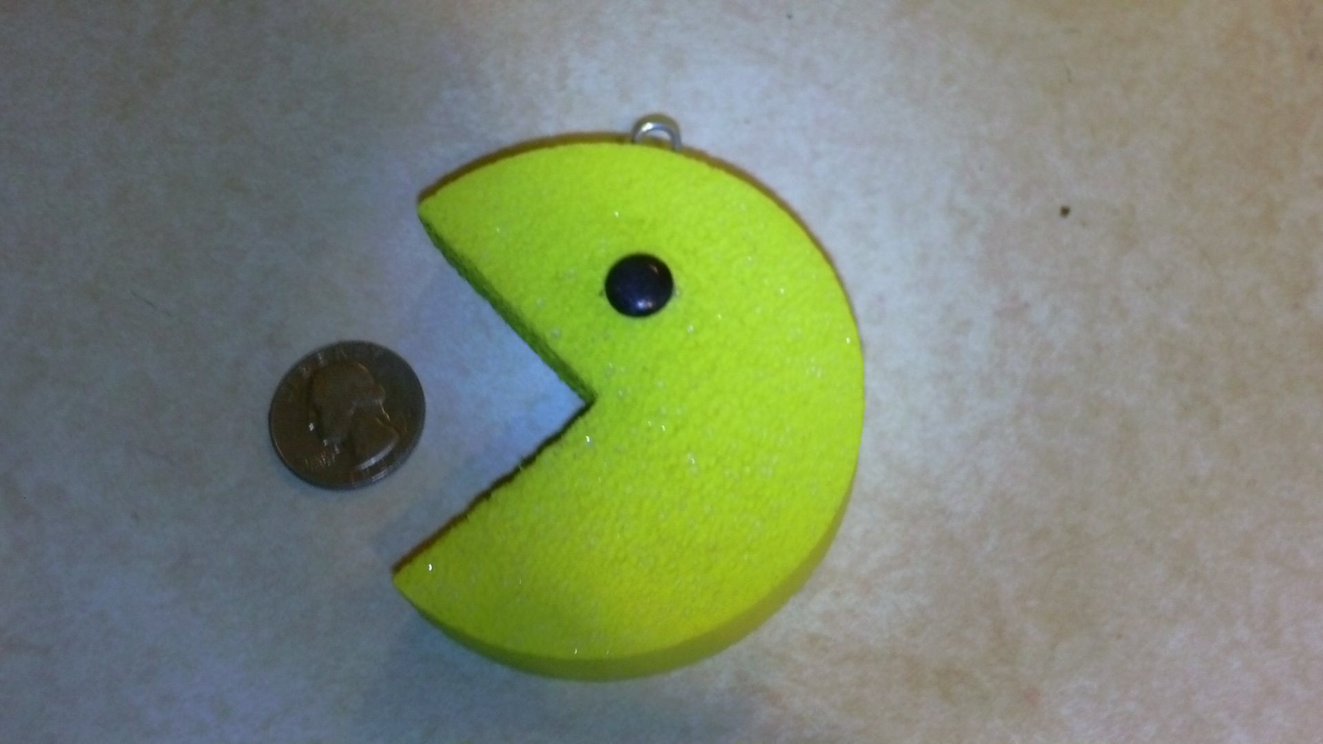 Picture of Giant Pac-Man Earrings