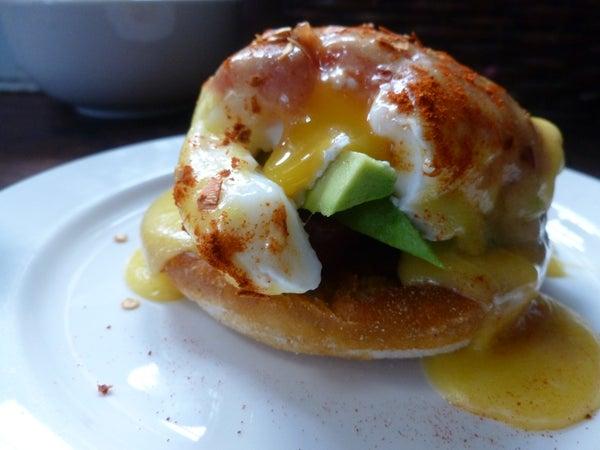 Huevos Benedictos (Mexican Eggs Benedict)