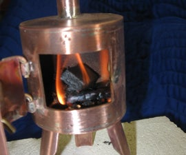 Miniature Camp Stove