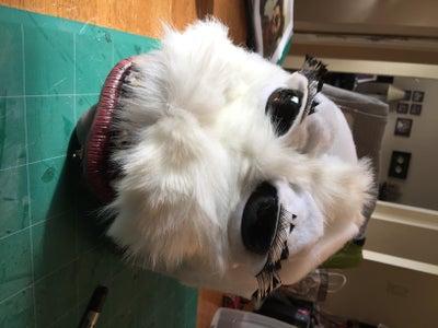 Adding the Muzzle Fur.
